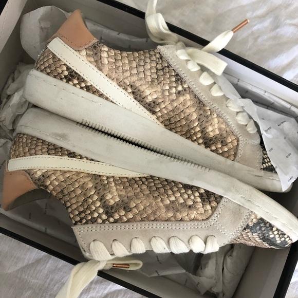 Dolce Vita Nino Sneakers In Snakeskin